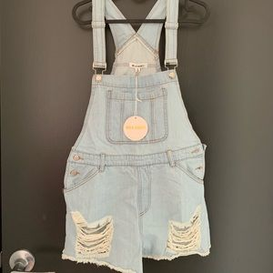 Honey lunch jeans denim overall